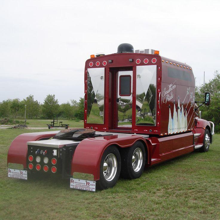 Semi truck sleeper sex