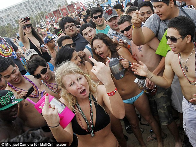 Milfs show tits in public drunk