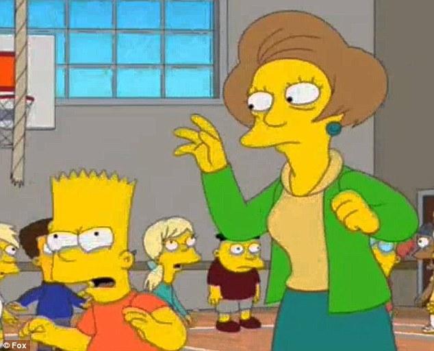 Simpsons cartoon porn teacher