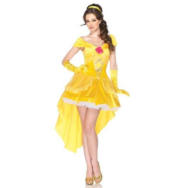 Sexy princess belle beauty and the beast