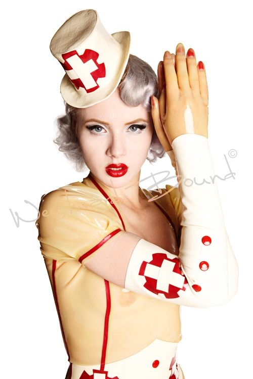 Latex gloves nurse fetish