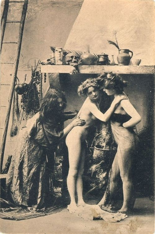 Witches sabbat in paris