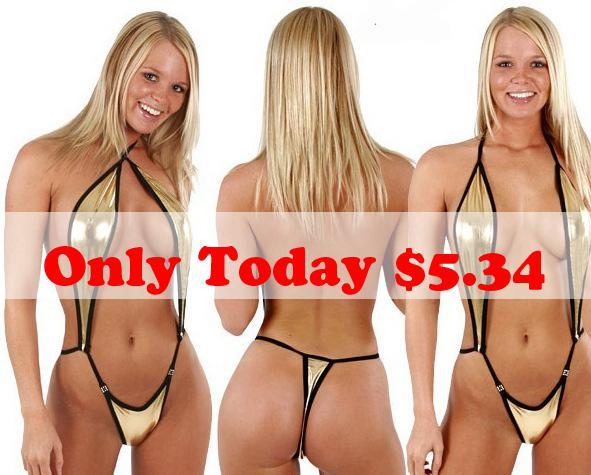 Brazilian thong bikini girls