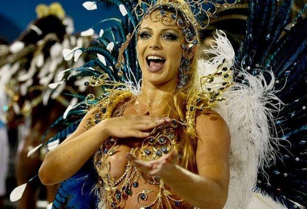 Of nude carnival women