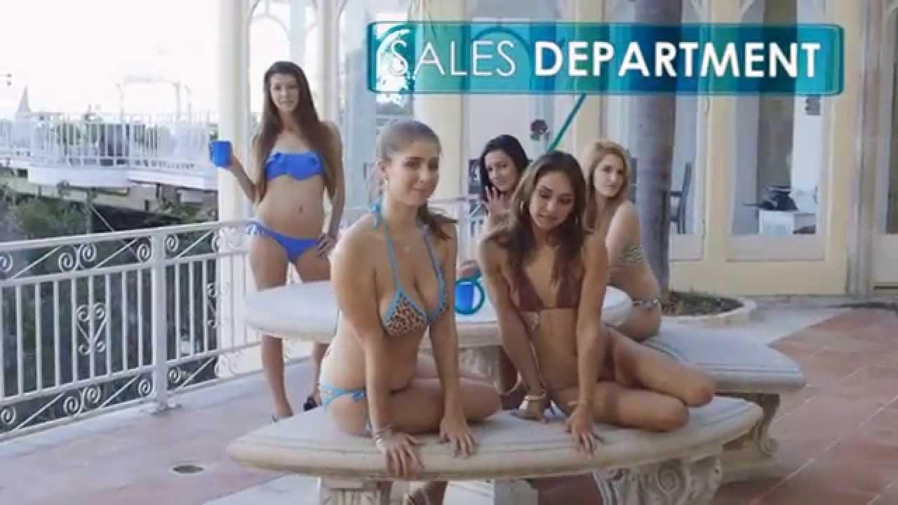 Hot girl porn advertisement