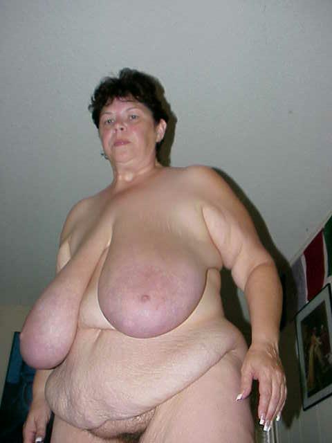 Huge miss d saggy tits
