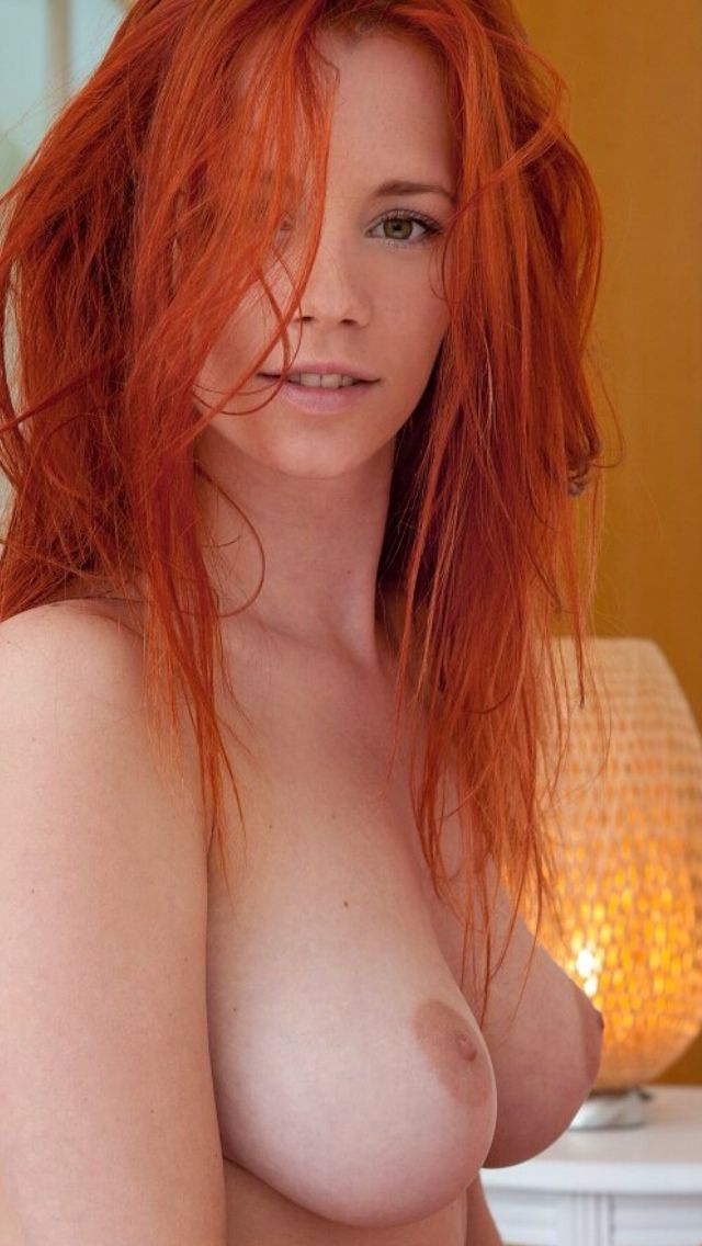 Girl hair sexy hot red