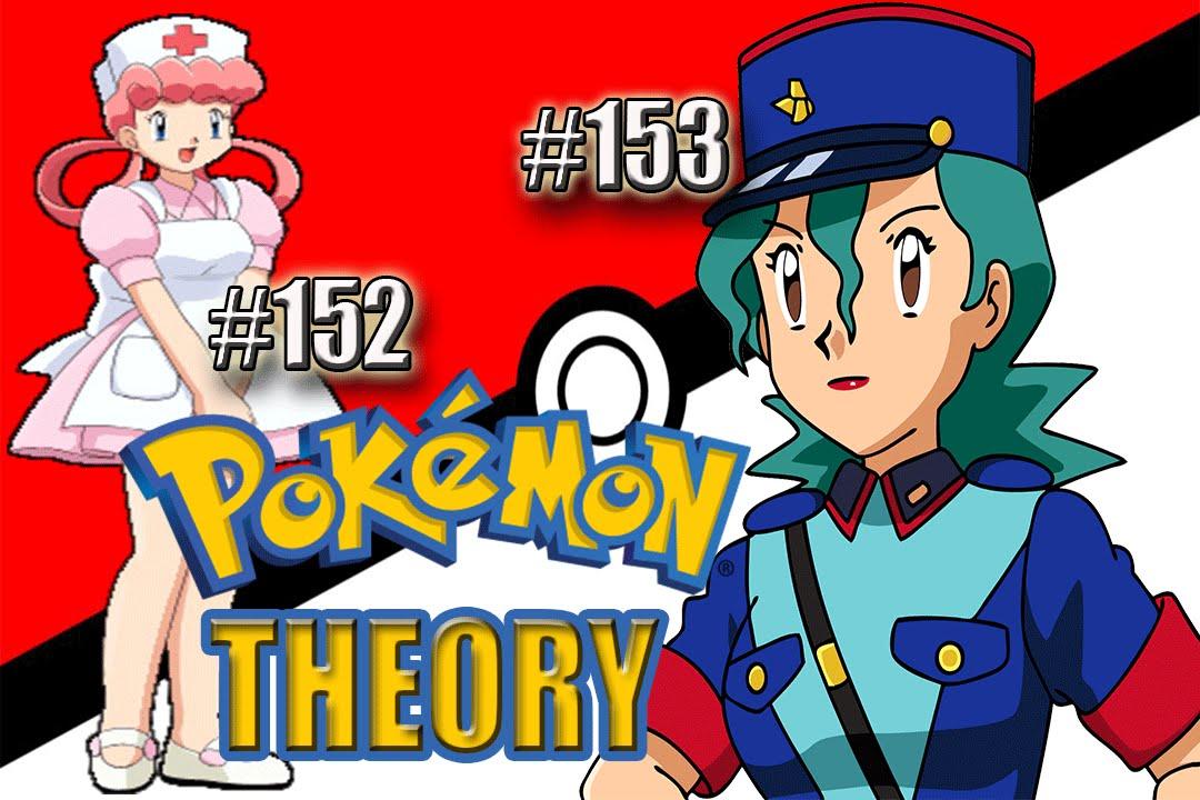 Pokemon nurse joy and officer jenny
