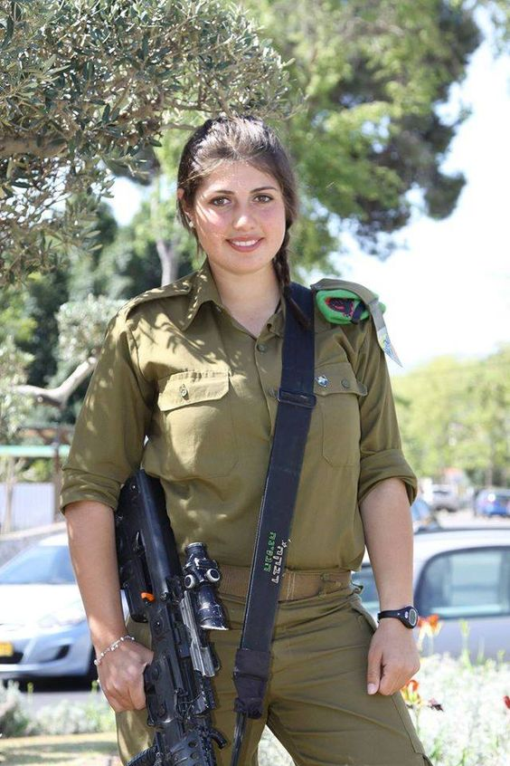 israeli girls Beautiful army
