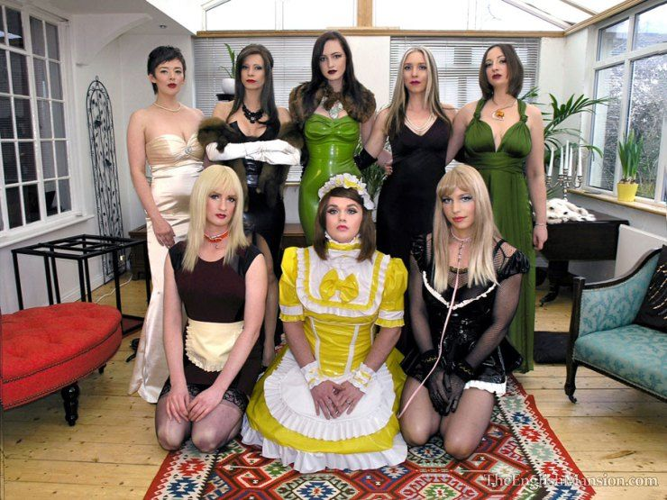English mansion sissies