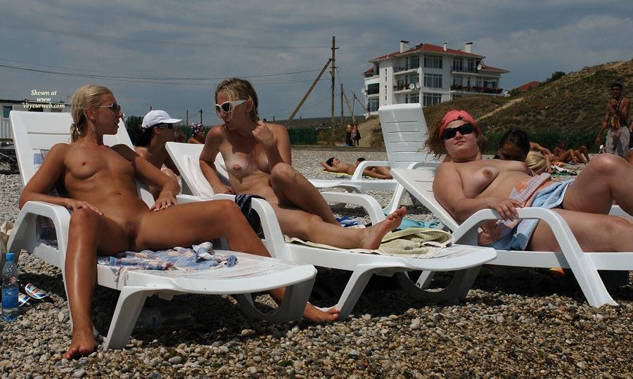 Nude beach spread