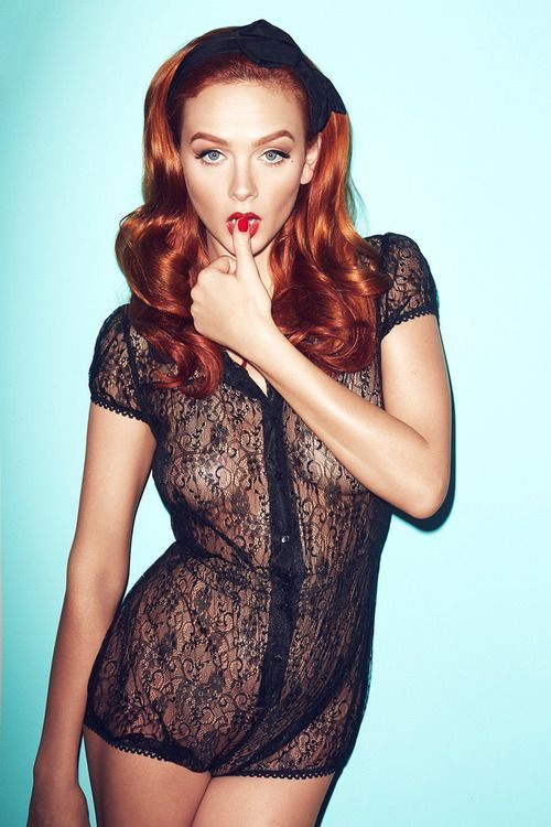 Sexy redhead teacher