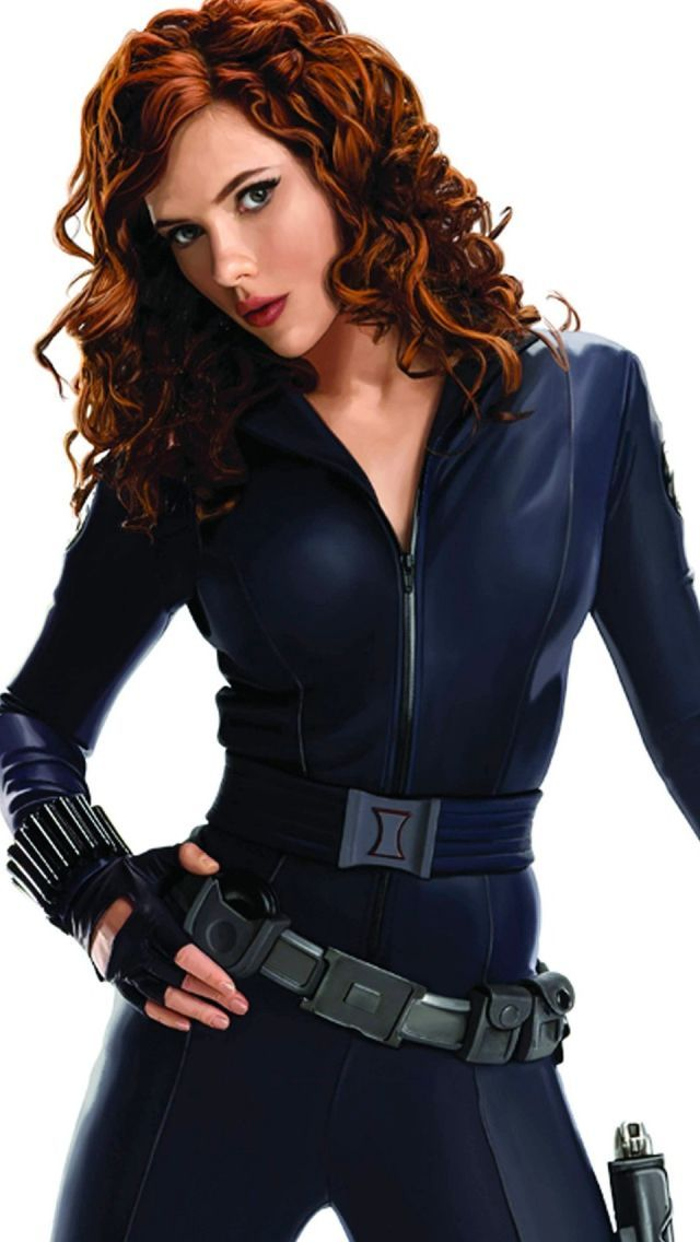 Scarlett johansson black widow iron man