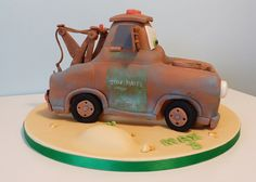 Cars movie tow mater side view