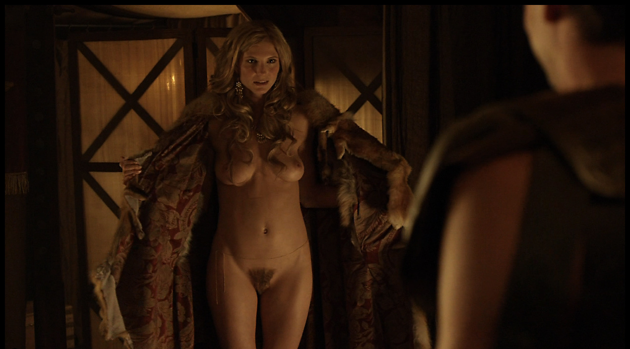 naked scenes Spartacus