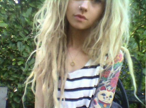 Girls with dreads xxx