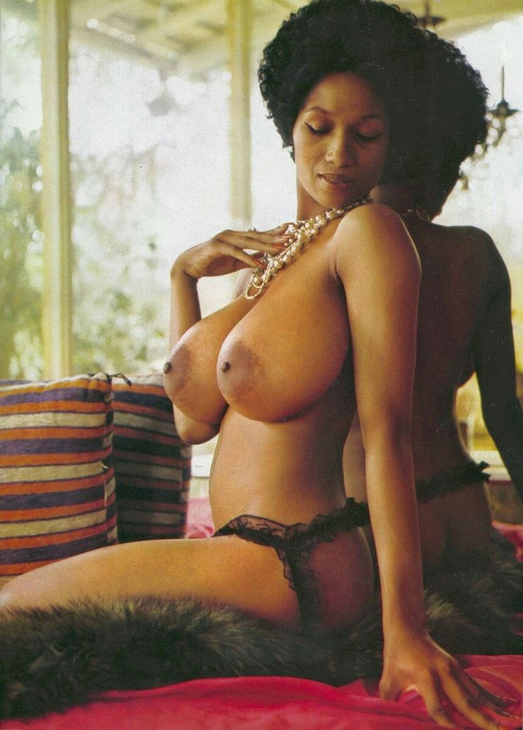 Ebony vintage nude black women