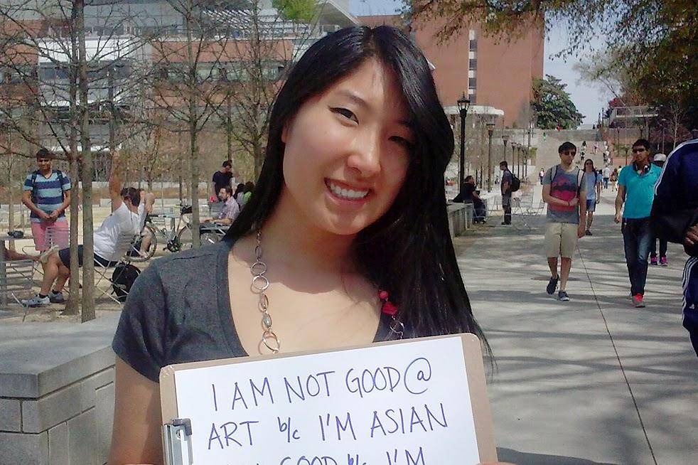 Asian panties pulled aside