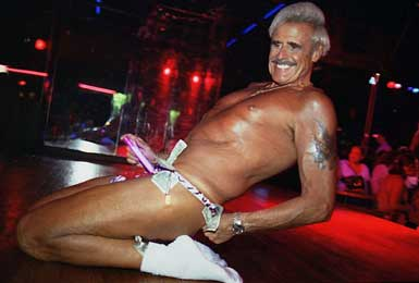 Hot gay male strippers