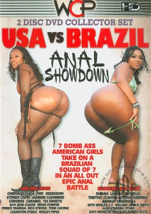 Brazilian anal sex porno