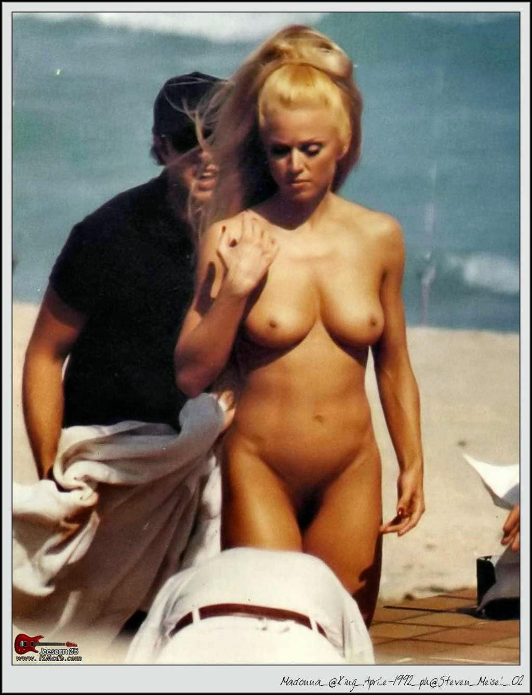 Nude spread madonna