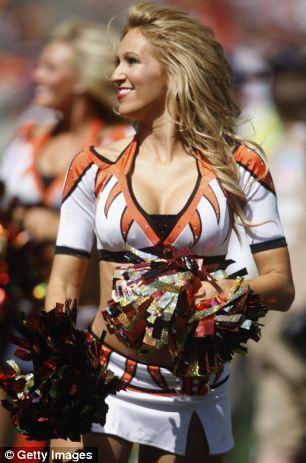 Oop real cheerleaders upskirt