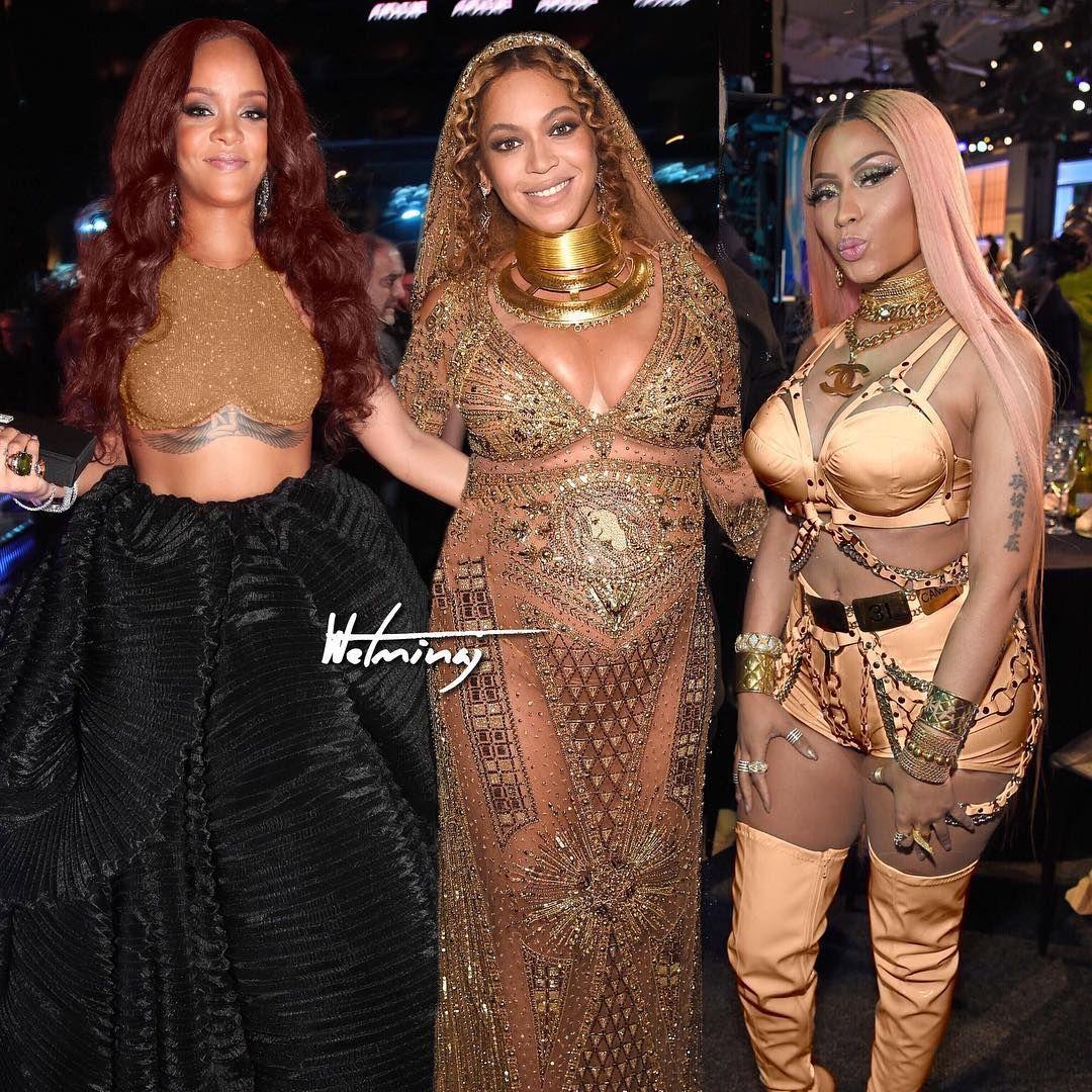 Rihanna nicki minaj nude