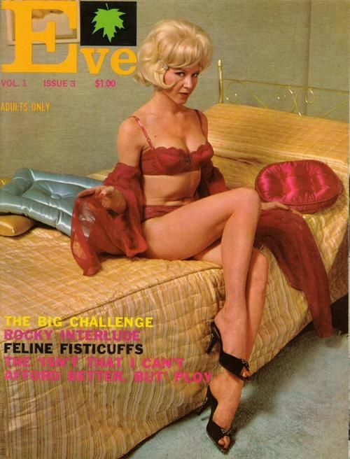 Vintage stocking magazines