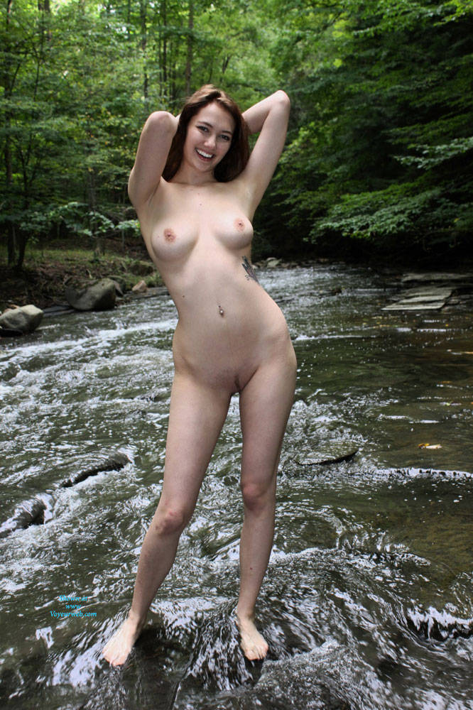 Girls first time nude shoot