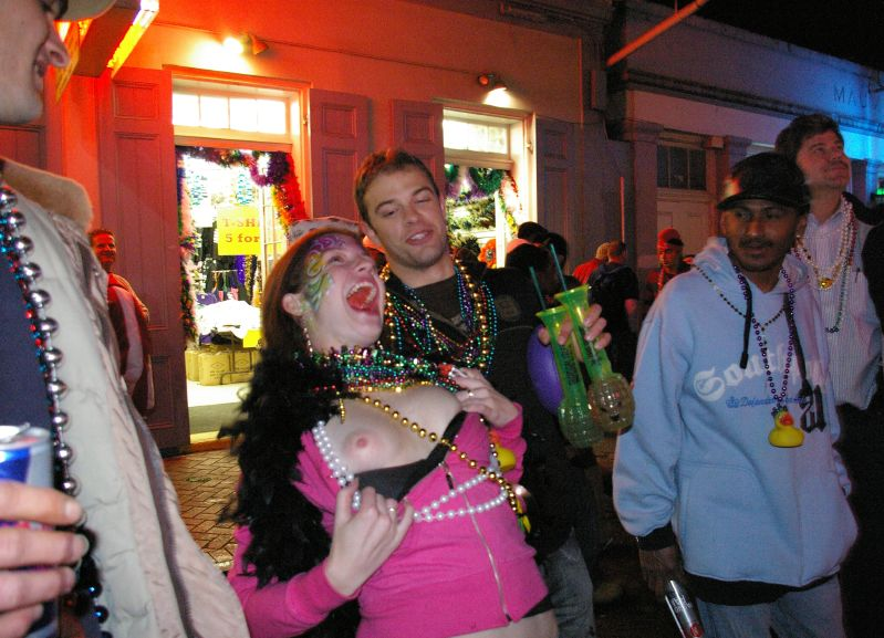 Naked mardi photos new orleans gras