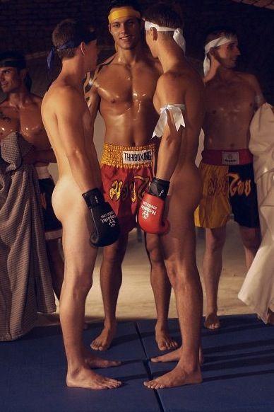 nude boy Muay thai