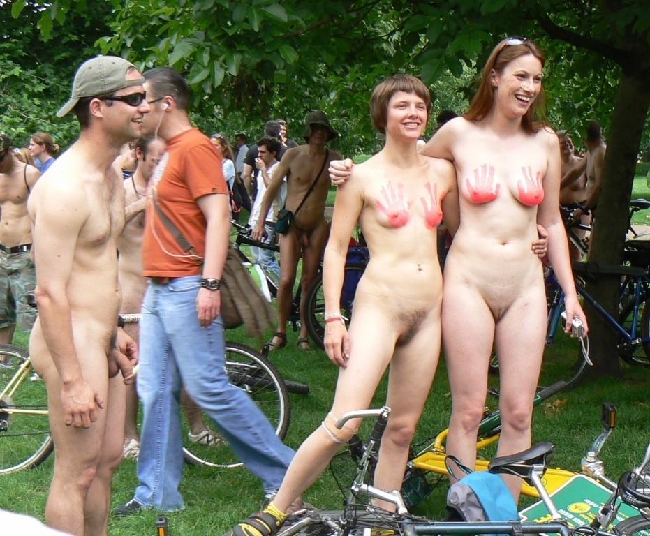 World naked bike ride nude