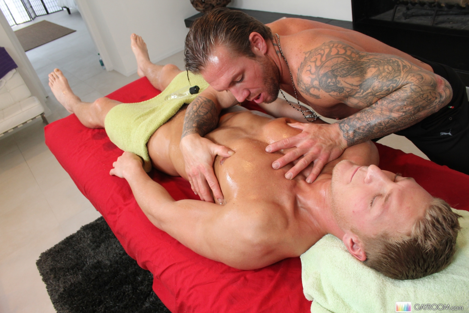 Gay Massage Porno