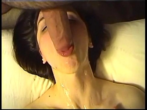 Blowjob with cum on face