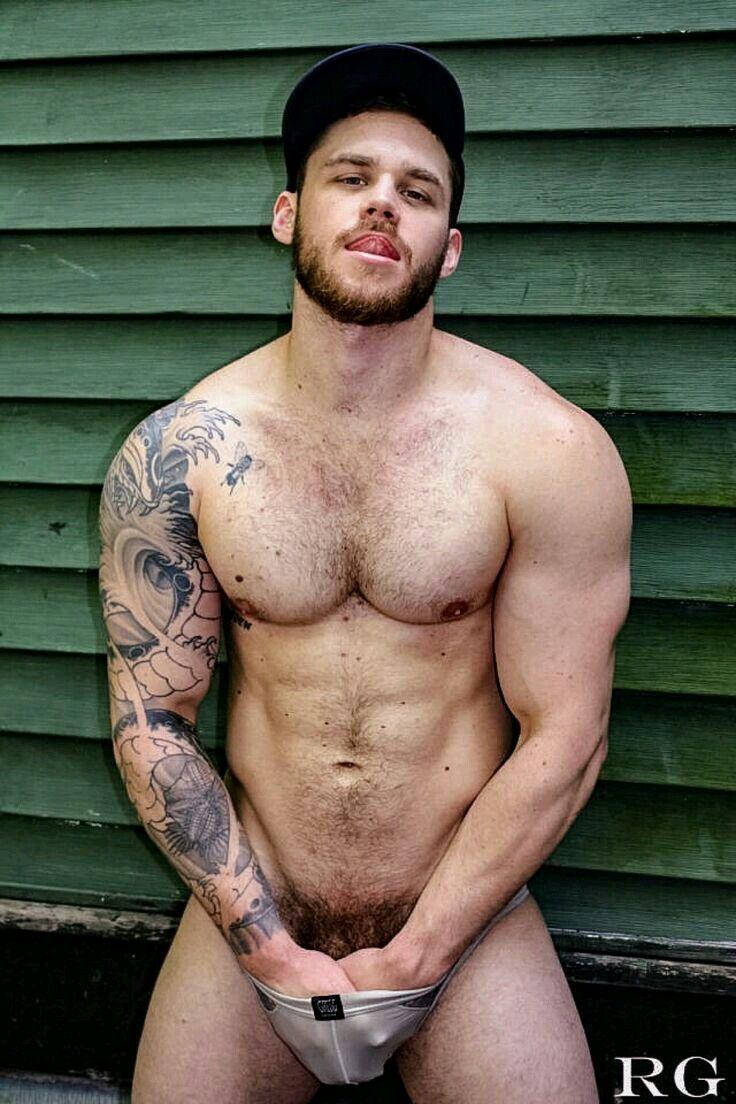 Hot sexy naked gay man