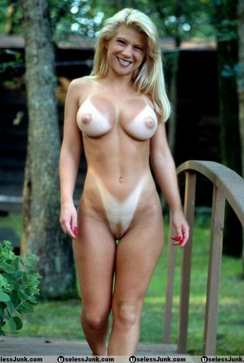 nude Milfs with tan lines
