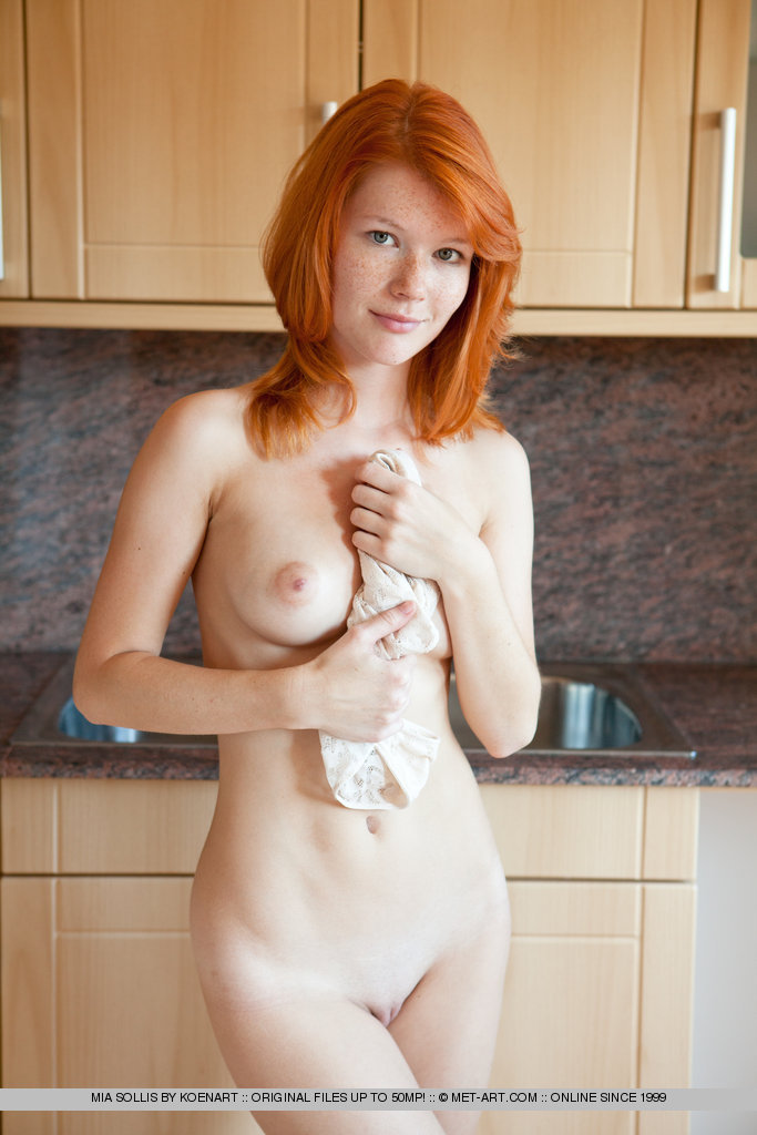 Red hair pale skin nude girls
