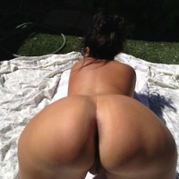 My wife s naked ass