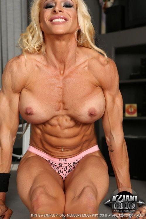 Nude female muscle milf