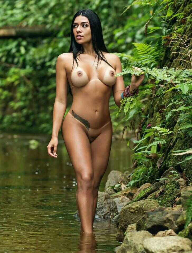 Dominique jungle girl latina nude