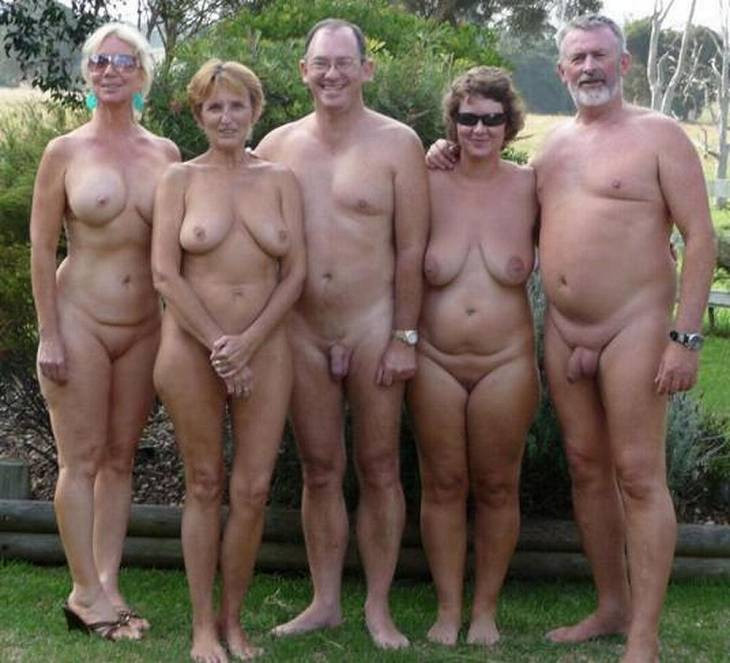 Mature nudists swingers group
