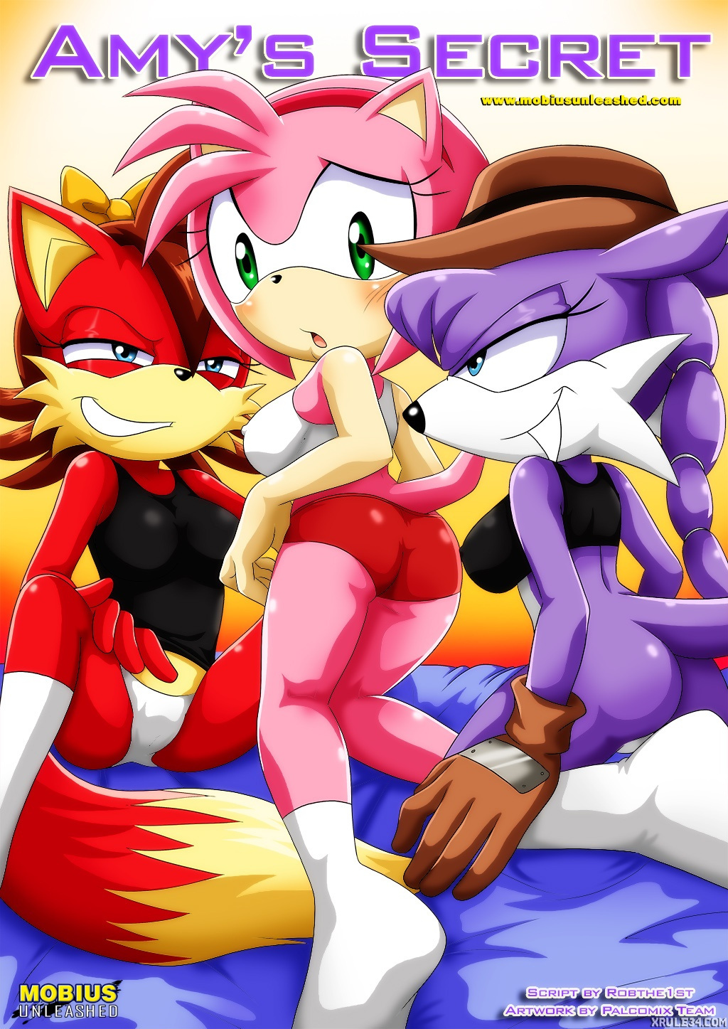 Sonic porn comics