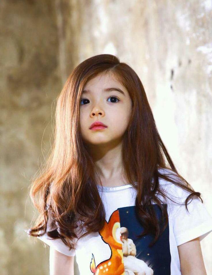European asian mixed girl