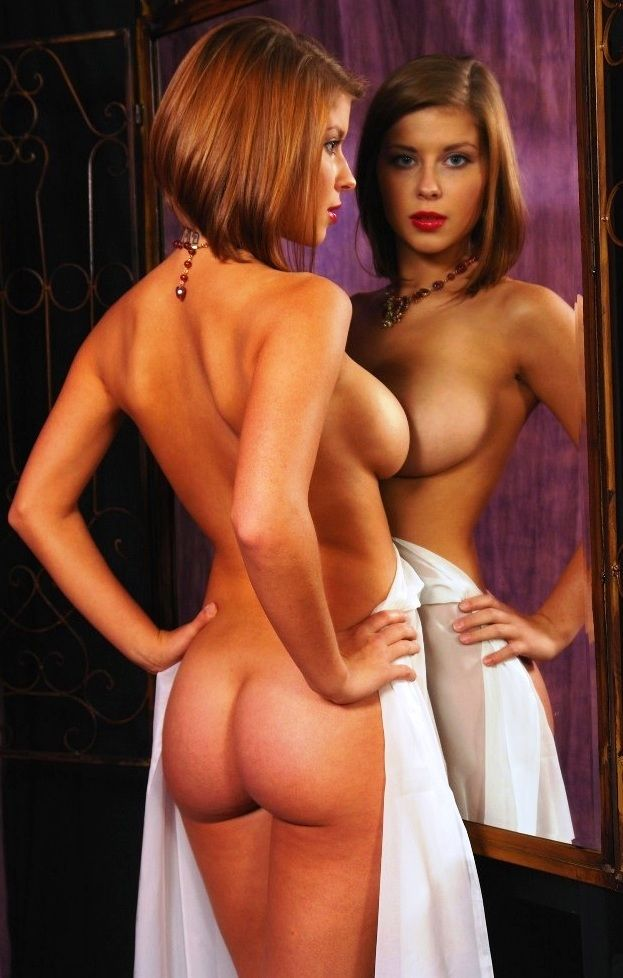 Nude art model abby