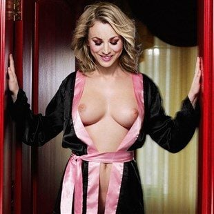 Big bang kaley cuoco nude