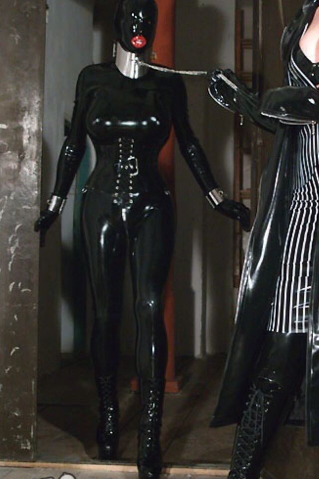 Lesbian latex bondage fetish