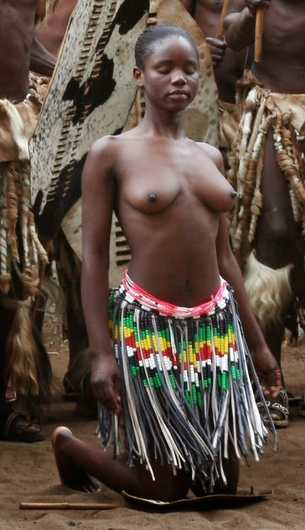 Black african nude tribe girls