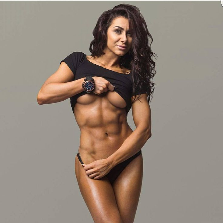Sexy female fitness models nude