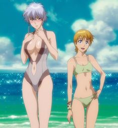Bleach girls swimsuit