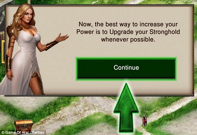 Naked girl from game of war
